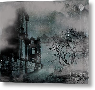 The Old Ruins Metal Print by Cheryl Young