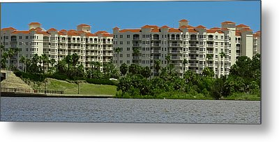 The Ormond Hotel Metal Print by DigiArt Diaries by Vicky B Fuller