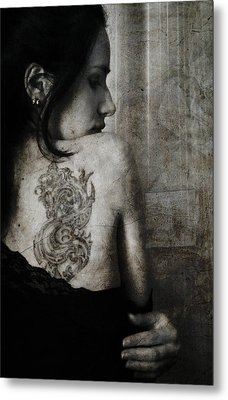 The Other Side Metal Print by Laura Melis