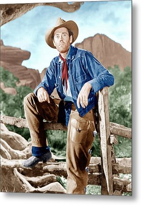 The Ox-bow Incident, Henry Fonda, 1943 Metal Print by Everett