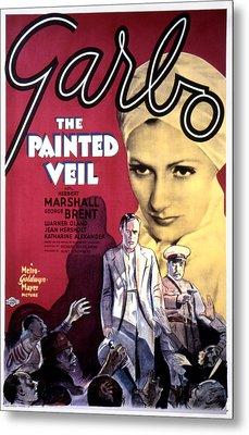 The Painted Veil, Greta Garbo, 1934 Metal Print by Everett