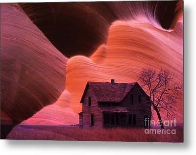 The Perfect Storm Metal Print by Bob Christopher