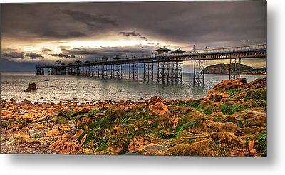 The Pier Metal Print by Adrian Evans