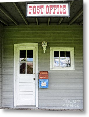 The Post Office Metal Print by Paul Ward
