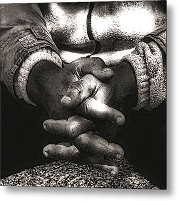 The Prayer Metal Print by Kenneth Mucke