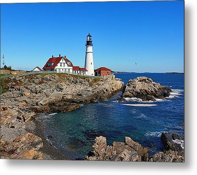 The Quintessential Maine Metal Print by Lanis Rossi