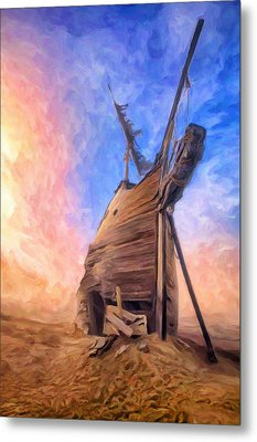 The Ravages Of Time Metal Print by Dominic Piperata