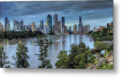 The River Commute Metal Print by Mark Lucey