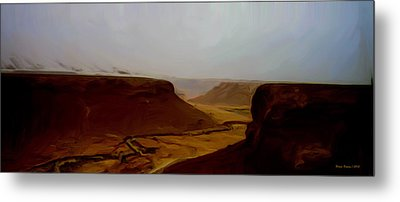 The Road To Seiyon Metal Print by Wayne Bonney