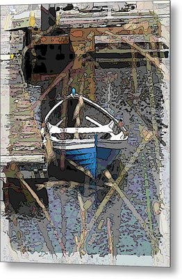 The Rowboat Metal Print by Tim Allen