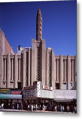 The Roxie Theater, Built By John M Metal Print by Everett