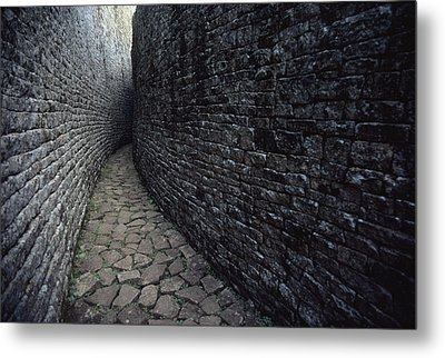 The Ruins Of Great Zimbabwe Were Built Metal Print by James L. Stanfield
