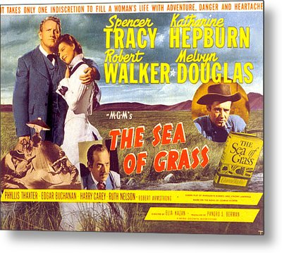 The Sea Of Grass, Spencer Tracy Metal Print by Everett