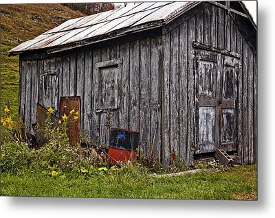 The Shed Metal Print by Steve Harrington