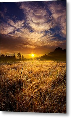 The Shining Metal Print by Phil Koch