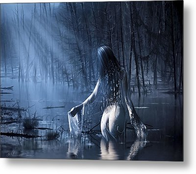 The Siren Metal Print by Svetlana Sewell