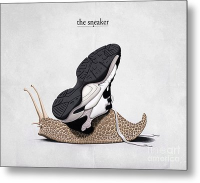 The Sneaker Metal Print by Rob Snow