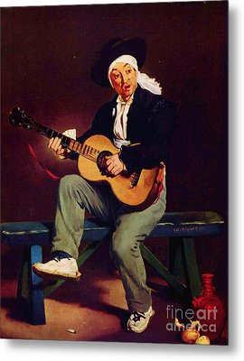 The Spanish Singer Metal Print by Pg Reproductions