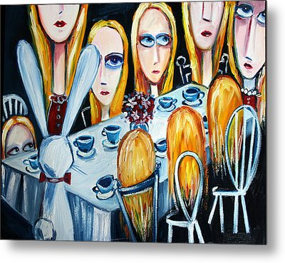 The States Of Alice Metal Print by Leanne Wilkes