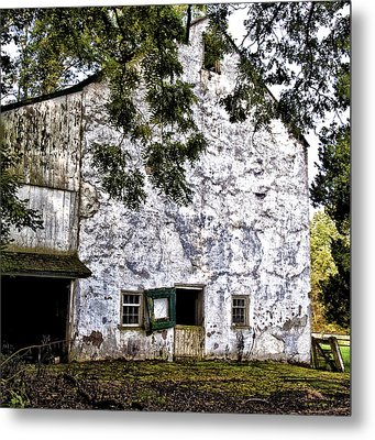 The Stone Barn Metal Print by Bill Cannon