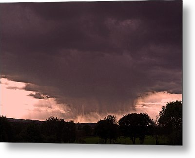 The Storm Is Coming ... Metal Print by Juergen Weiss