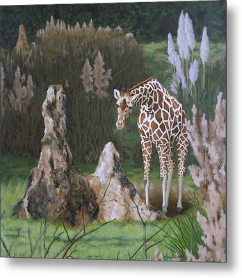 The Termite Mounds Metal Print by Sandra Chase