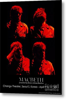The Tourment Of Macbeth Metal Print by Michele Farley