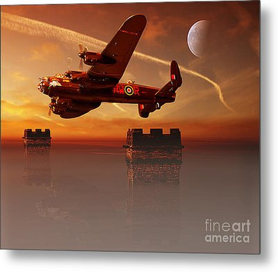 The Towers Metal Print by Nigel Hatton
