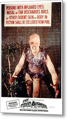The Toxic Avenger, Mitch Cohen, 1985 Metal Print by Everett