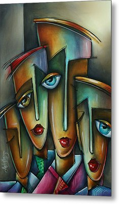 The Union Metal Print by Michael Lang