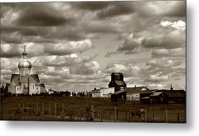 The Village Metal Print by JC Photography and Art