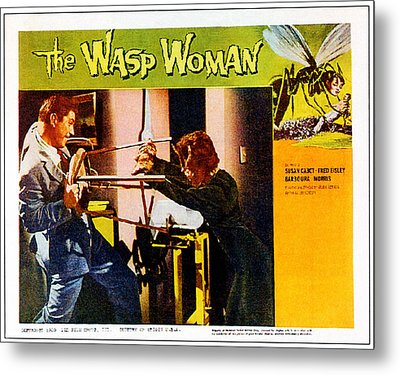 The Wasp Woman, From Left Anthony Metal Print by Everett