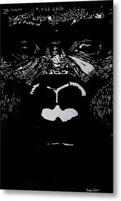 The Watcher Metal Print by Jim Ross