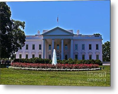 The White House - No. 0341  Metal Print by Joe Finney
