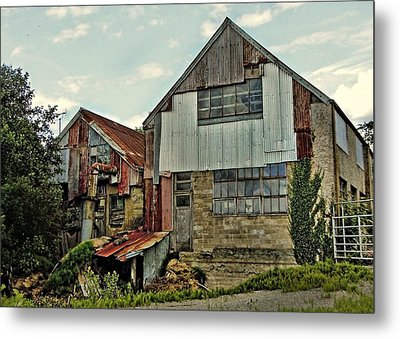 The Woodmill Metal Print by Julie Williams