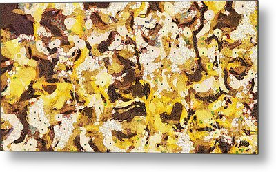 The Yellow Paintings Metal Print by Odon Czintos