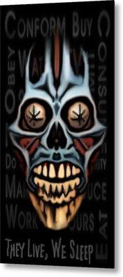 They Live We Sleep Metal Print by Jeff DOttavio
