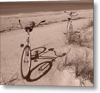 They Were Carefree Metal Print by Marie Bulger