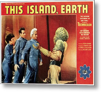 This Island, Earth, From Left Faith Metal Print by Everett