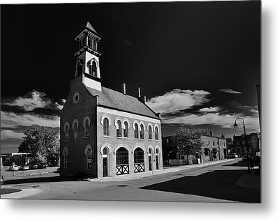 Thorold's Old Fire Hall Metal Print by Guy Whiteley