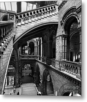 Through The Arches Metal Print by Martin Williams