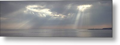 Through The Clouds Metal Print by Alexander Fedorov