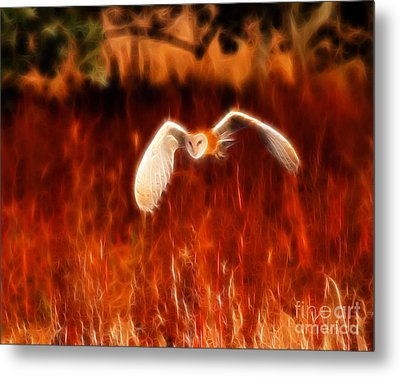 Through The Fire Metal Print by Beth Sargent