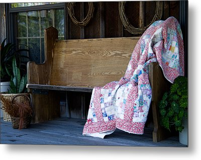 Time For Another Rest Metal Print by Carol Hathaway