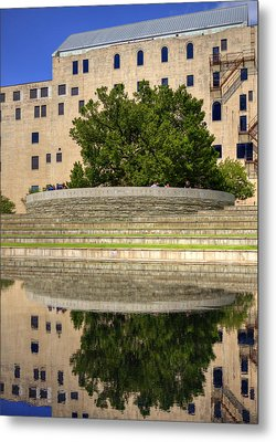 Time For Reflection Metal Print by Ricky Barnard