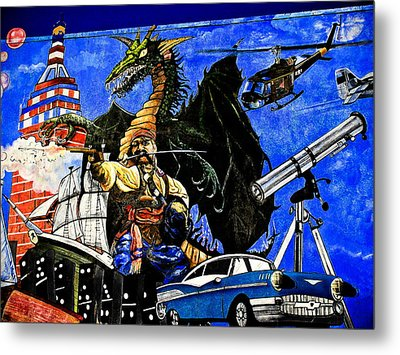 Time Travel Metal Print by Colleen Kammerer