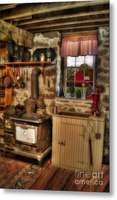 Times Gone By Metal Print by Susan Candelario