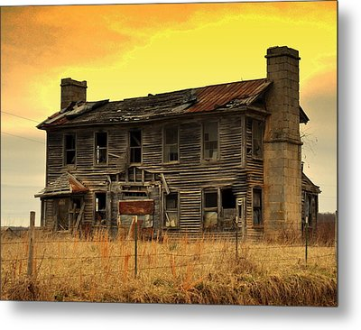 Times Past Metal Print by Marty Koch