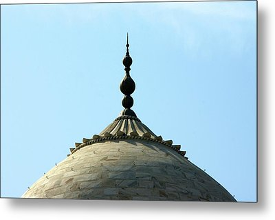 Tip-top Of Taj Metal Print by Ashley St. John