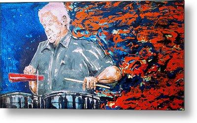 Tito Puente Metal Print by Omar Javier Correa